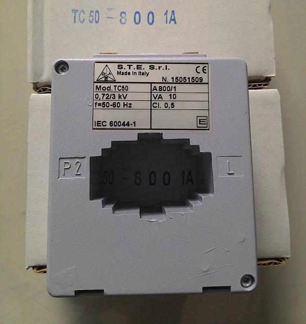 Biến dòng đo lường nhựa vuông MFO-130-4000/5A