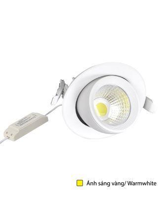 Bộ Đèn LED Chiếu Điểm Âm Trần Điện Quang ĐQ LEDRSL03 20727 (20W, Warmwhite)