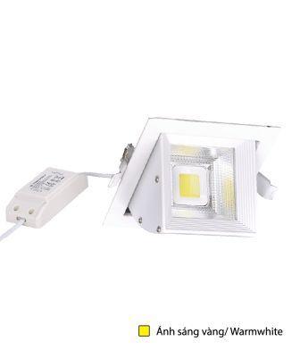 Bộ Đèn LED Chiếu Điểm Âm Trần Điện Quang ĐQ LEDRSL07 20727 (20W, Warmwhite)