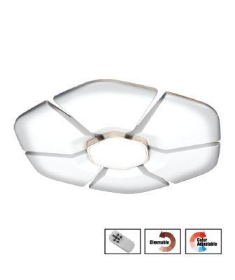 Bô Đèn LED Ốp Trần Cao Cấp Điện Quang ĐQ LEDCCL06 108Dim ( 108w D800mm Điều Khiển Độ Sáng Và Màu Bằng Remote)
