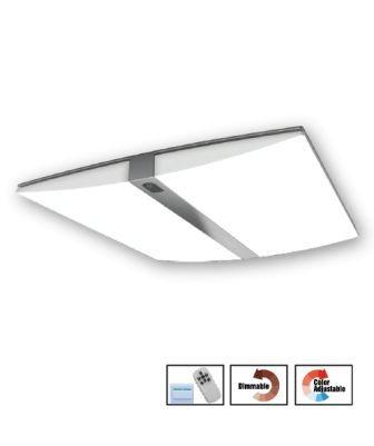 Bộ Đèn LED Ốp Trần Cao Cấp Điện Quang ĐQ LEDCCL10 108Dim S (108W 900x750x95mm Điều Khiển Độ Sáng Và Màu Bằng Remote, Công Tắc)