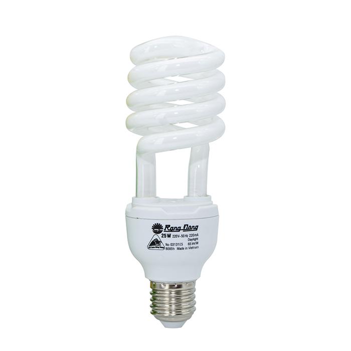 Bóng đèn Compact xoắn CFL HST4 Đuôi E27/B22