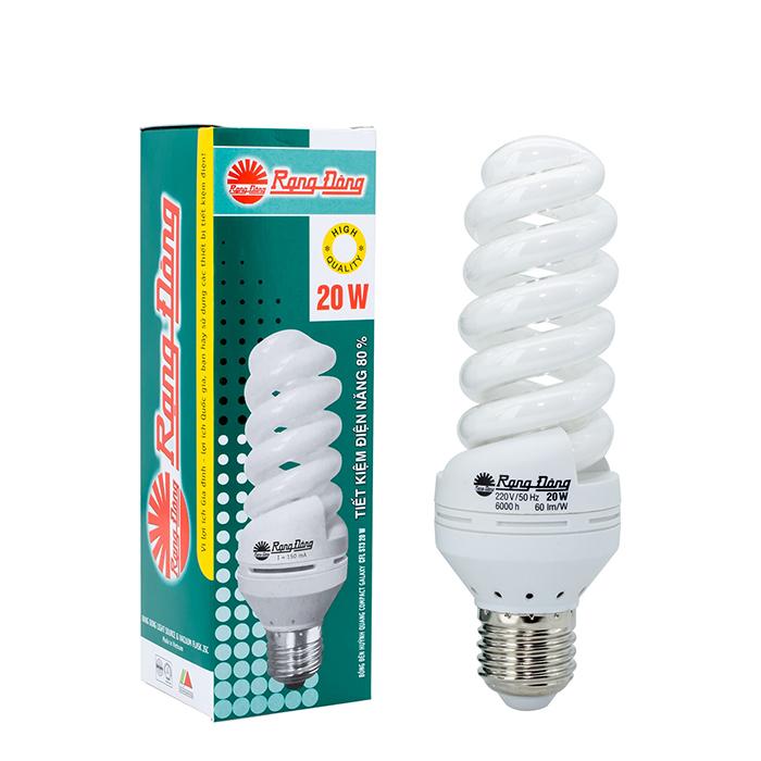 Bóng đèn Compact xoắn ST4