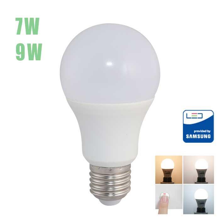 Bóng đèn Led bulb đổi màu rạng đông (7W/9W)