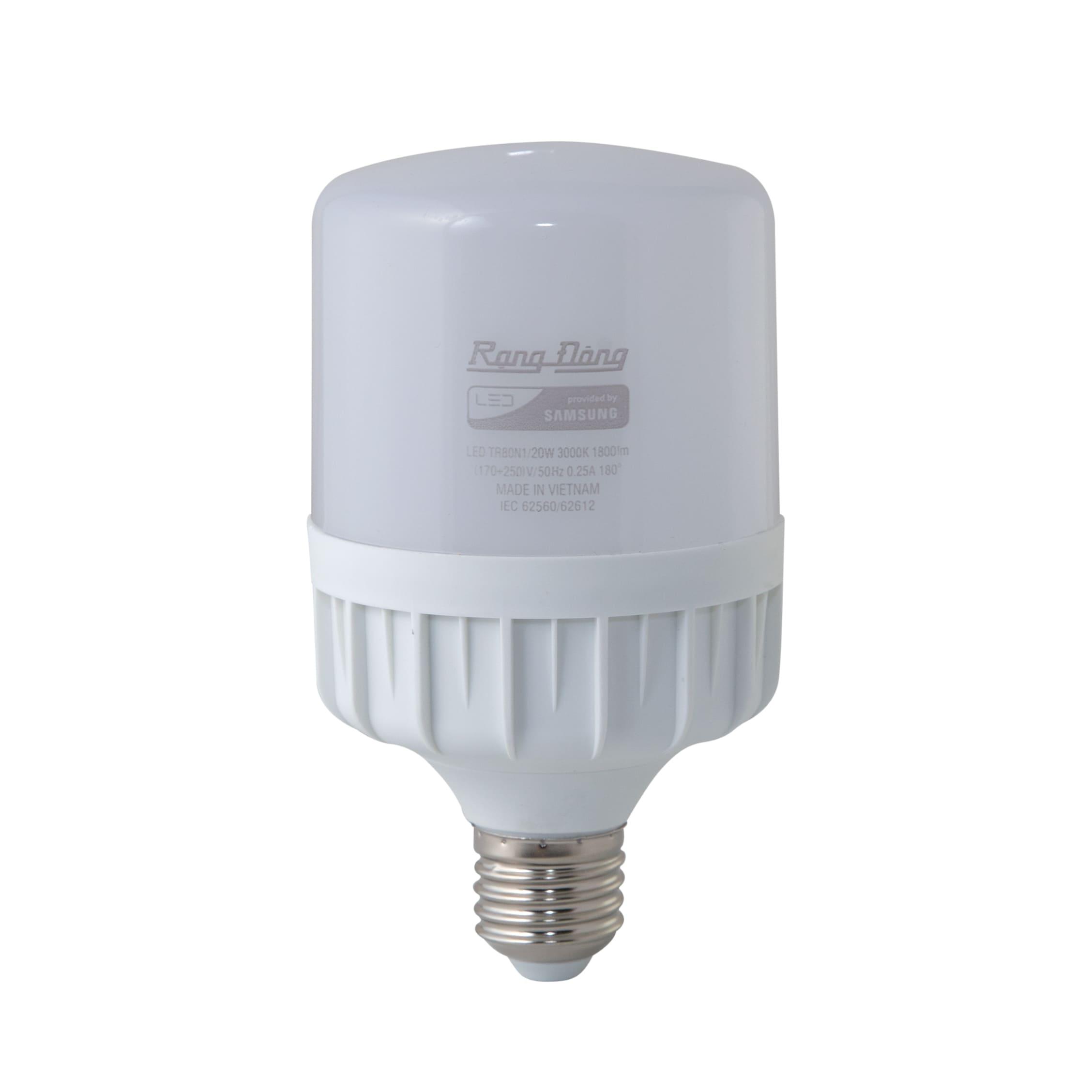 Bóng đèn led buld trụ 20W LED TR80N1/20W (SS)