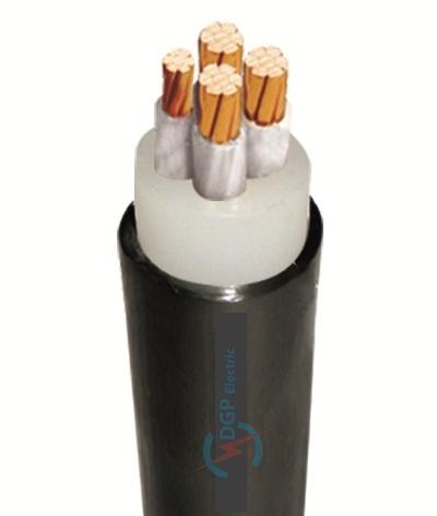 Cáp điện CXV-3xXX+1xYY- 0.6/1kV( Cách điện XLPE, vỏ PVC) CXV-3x4+1x2.5