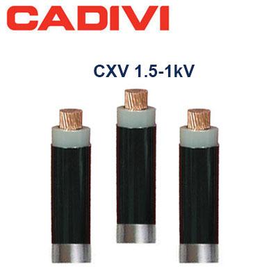 Cáp điện CXV-XX - 0.6/1kV (Cách điện XLPE, vỏ PVC) CXV-1.5