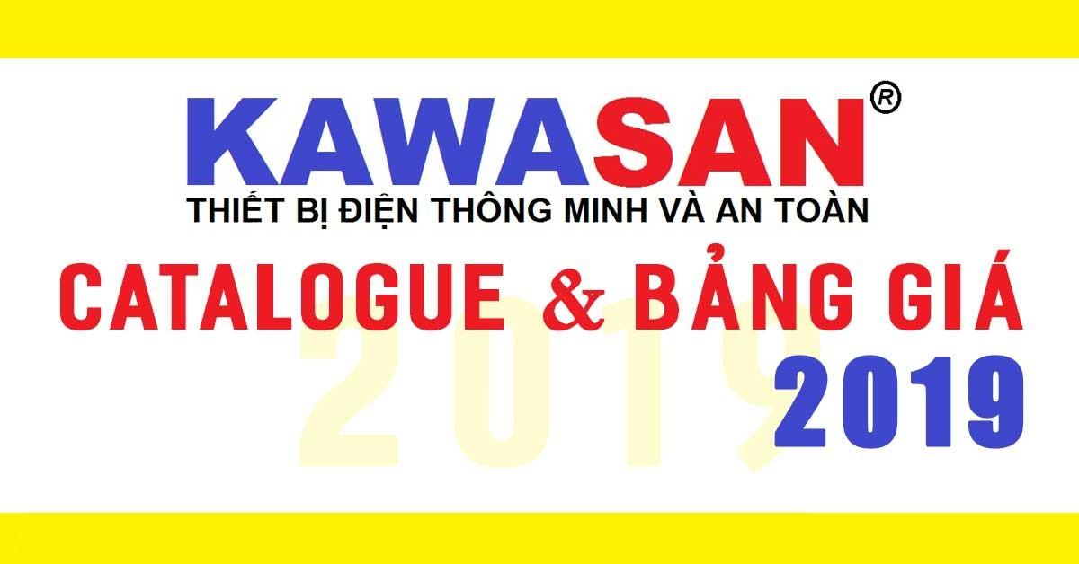 Catalogue và bảng giá KAWASAN 2019
