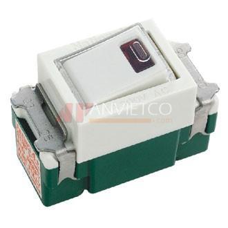 Công Tắc Đơn Panasonic Có Đèn Báo Khi On WN5241W-801