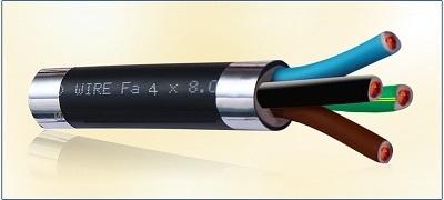Dây cáp pha mềm 4 lõi ruột đồng (Fa 4 x 1.5)
