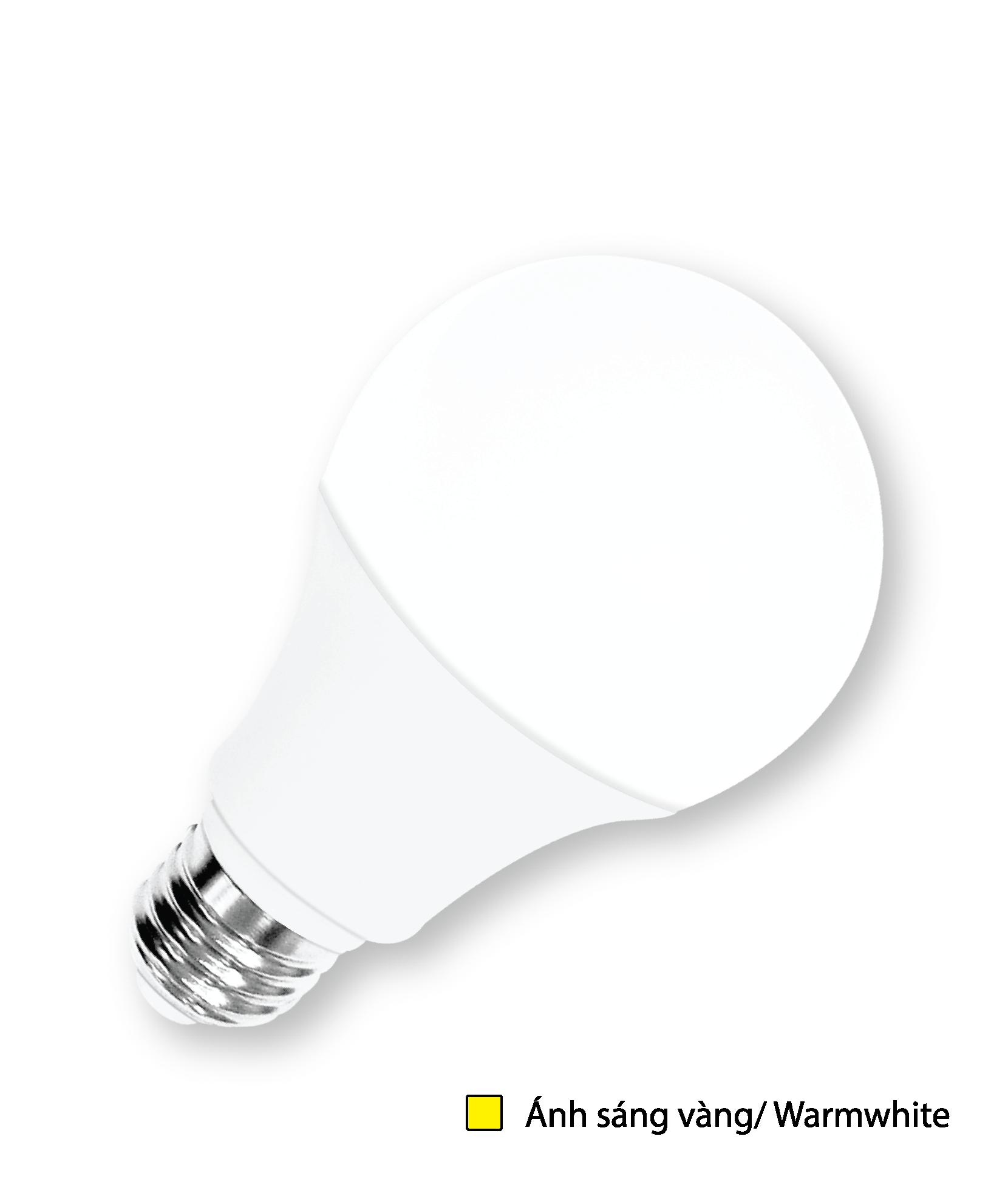 Đèn LED Bulb BU11 Điện Quang ĐQ LEDBU11A50 03727 (3W Warmwhite, Chụp Cầu Mờ)