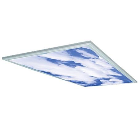 Đèn LED Panel 600x1200 Dòng E (mây trời) D P01 MT 60x120/75W (in mây trời)