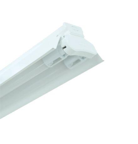 Đèn LED công nghiệp chóa sơn tĩnh điện 2x18W