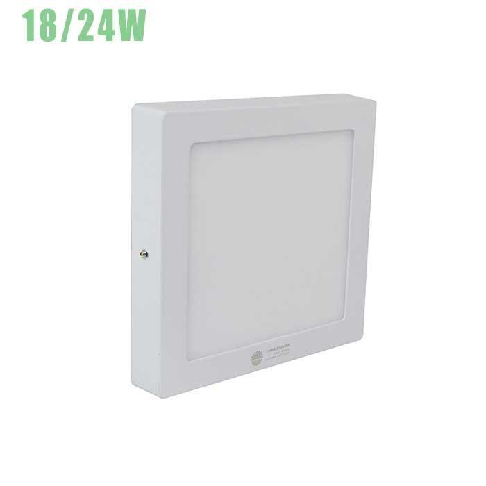 Đèn Led ốp trần vuông cảm biến Rada (18W/24W)