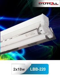 Đèn công nghiệp chóa phản quang 2x18W