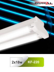 Đèn huỳnh quang siêu mỏng 2x18W