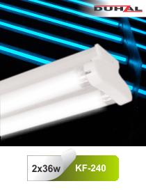 Đèn huỳnh quang siêu mỏng 2x36W