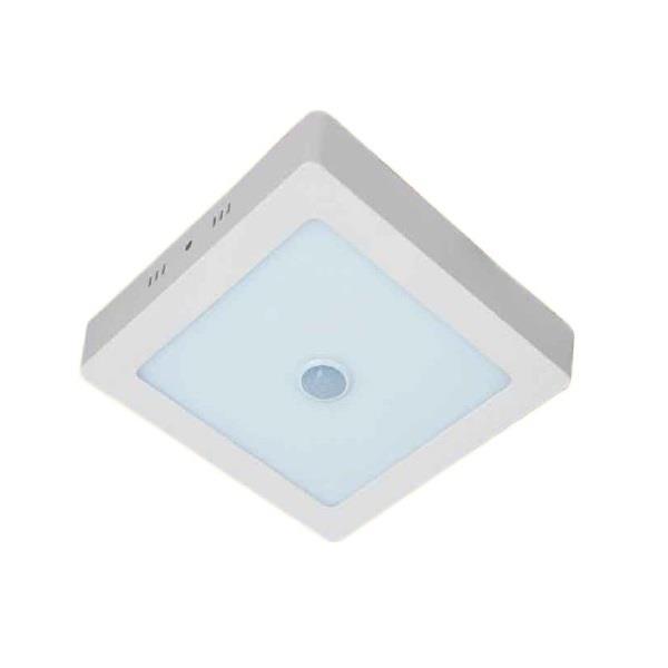 Đèn ốp trần vuông 12W Kawasan cảm ứng hồng ngoại 3000/6500K