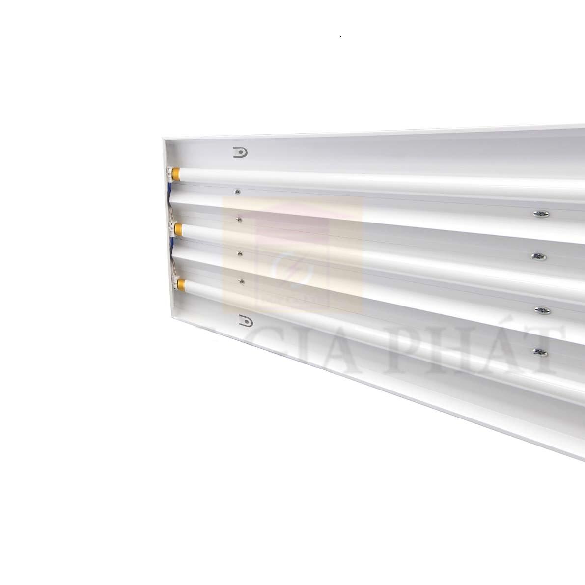 Máng đèn huỳnh quang nông nghiệp 3 x 36W M NN01 3x36W