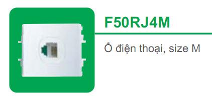 Ổ cắm điện thoại F50RJ4M ổ cắm điện thoại