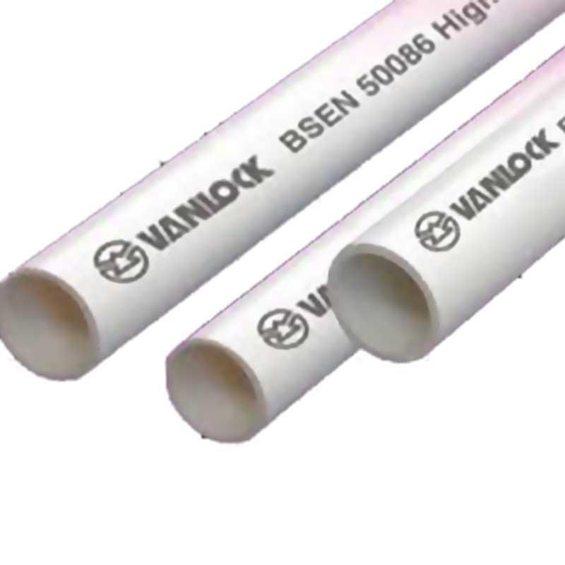 Ống luồn dây điện 750N (dài 2.92m/Cây) VANLOCK (BS EN 61386-21; IEC 61386-21)
