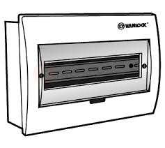 Tủ điện mặt nhựa, đế sắt chứa 14 - 18 module E4FC 14/18L