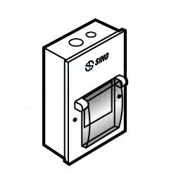 Tủ điện vỏ kim loại chứa 2 Module Gắn âm E2MPL